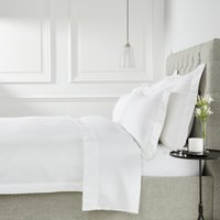Cavendish Duvet Cover, White, Emperor