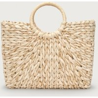 Cornskin Square Basket Bag
