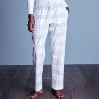Cotton Flannel Check Pyjama Bottoms