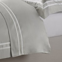 Charlton Flat Sheet, Silver, Single