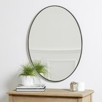 Chiltern Thin Metal Oval Mirror