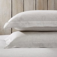 Clarendon Oxford Pillowcase with Border - Single