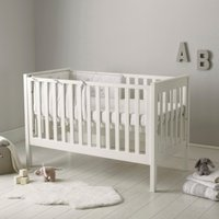 Classic Cot Bed, White, One Size