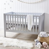 Classic Cot Bed, Grey, One Size