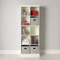 Classic 10 Cube Storage Unit, White, One Size