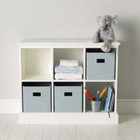 Classic 6 Cube Storage Unit, White, One Size