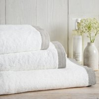 Colour Border Towels
