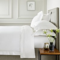 Connaught Duvet Cover, Chalk, Super King