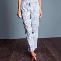 Brushed Cotton Check Pyjama Bottoms