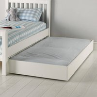 Classic Truckle Under Bed, White, One Size