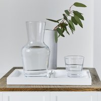Carafe & Stacking Tumblers, Clear, One Size