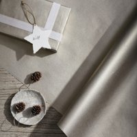 Champagne Kraft Wrapping Paper – 10m, Champagne, One Size