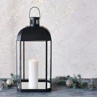 Chesterton Large Lantern, Dark Grey, One Size