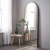 Chiltern Full-Length Arch Mirror, Black, One Size