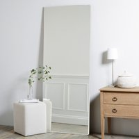Chiltern Thin Metal Full Length Mirror, White, One Size
