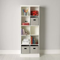 Classic 10 Cube Storage Unit, White, One Size