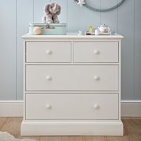 Classic Chest of Drawers, White, One Size