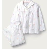 Classic Fairy Print Pyjamas (1-12yrs), White, 5-6yrs