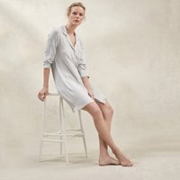 Classic Jersey Nightshirt, Cloud Marl, Extra Small