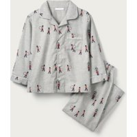 Classic Marching Band Pyjamas (1-12yrs), Grey, 5-6yrs