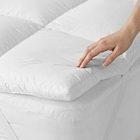 Classic Mattress Topper, No Colour, Double