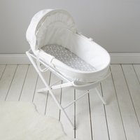 Classic Moses Basket, Cool Grey, One Size