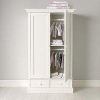 Classic Small Wardrobe, White, One Size
