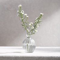 Claydon Bud Vase , Clear, One Size