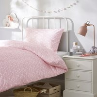 Cloud Bed Linen Set, Pink, Cot Bed