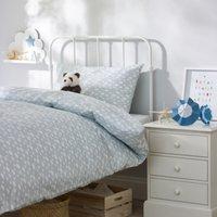Cloud Bed Linen Set, Blue, Single