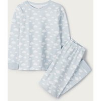 Cloud Print Pyjamas (1-12yrs), Blue, 9-10yrs