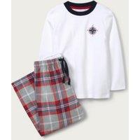 Compass Flannel Pyjamas (1-12yrs), Multi, 2-3yrs