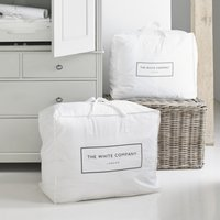 Cotton Large Storage Bag, White, One Size