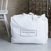 Cotton Small Storage Bag, White, One Size