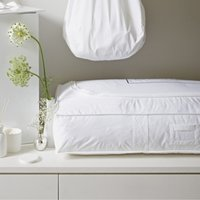 Cotton Under Bed Storage Bag, White, One Size