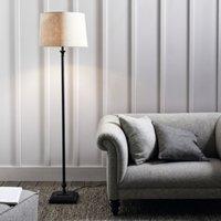 Cowley Floor Lamp, Black, One Size