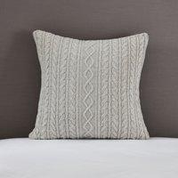 Cushion Cover, Silver, Medium Square