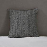 Cushion Cover, Charcoal, Medium Square