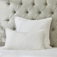 Cushion Cover - Single, White, Small Rectangle