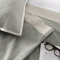 Addison Throw, Silver Grey, One Size