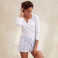 Cotton Deckchair Stripe Pyjama Shorts