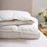 Duck Feather & Down Duvet - 4.5 Tog, No Colour, Double