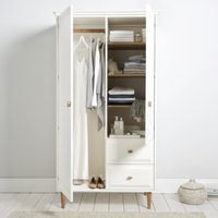 Ercol Devon Wardrobe, White, One Size