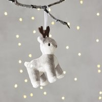Darla Reindeer Christmas Decoration, Natural, One Size
