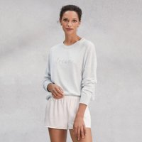 Dream Jumper with Cashmere, Pale Blue Marl, Extra Small