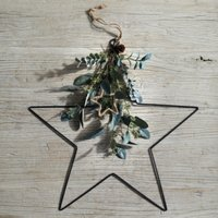 Dressed Nordic Star Christmas Decoration, Natural, One Size