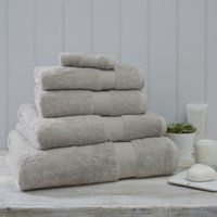 Luxury Egyptian Cotton Towel, Pearl Grey, Face Cloth