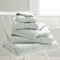Luxury Egyptian Cotton Towel, Platinum, Face Cloth