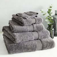 Luxury Egyptian Cotton Towel, Slate, Super Jumbo