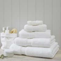Luxury Egyptian Cotton Towel, White, Bath Sheet